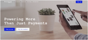 Braintree is the specialist inmobile payments