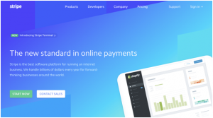The company which comes on the second position for the best payment processing solutions is Stripe