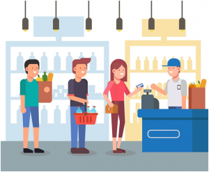 Quite possibly, one of the simplest ways to simplifythe checkout experience is by optimizing the queuing area